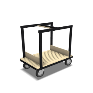 BUFFETCUBE-TROLLEY