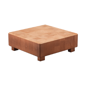 BUTCHER BLOCK L CUBE CHERRY