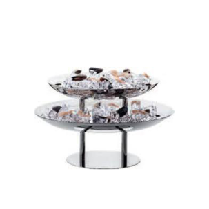 OVAL TWO TIER SEAFOOD STAND